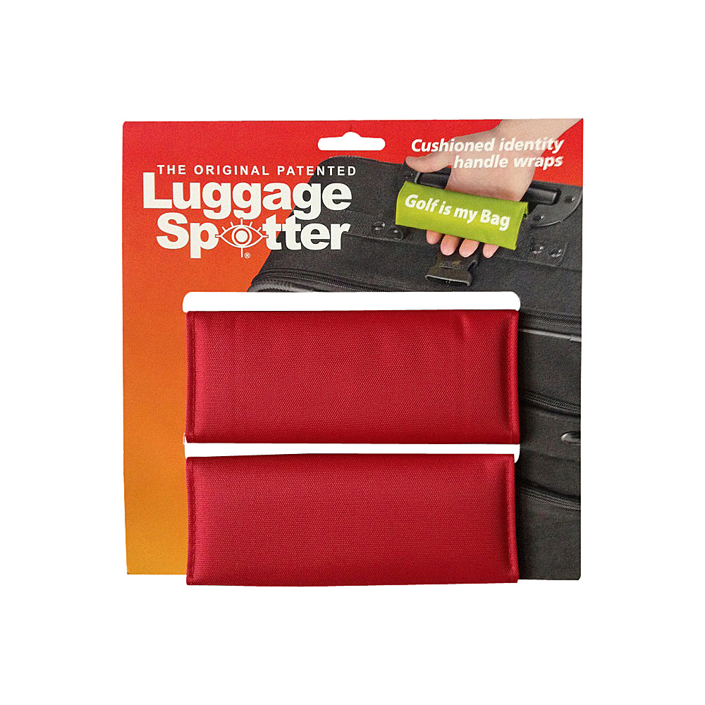 Luggage Spotters Bright Red Luggage Spotter Red Luggage Spotters Luggage Accessories