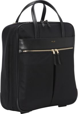 KNOMO London Burlington 15 inch N/S Trolley Black - KNOMO London Wheeled Business Cases
