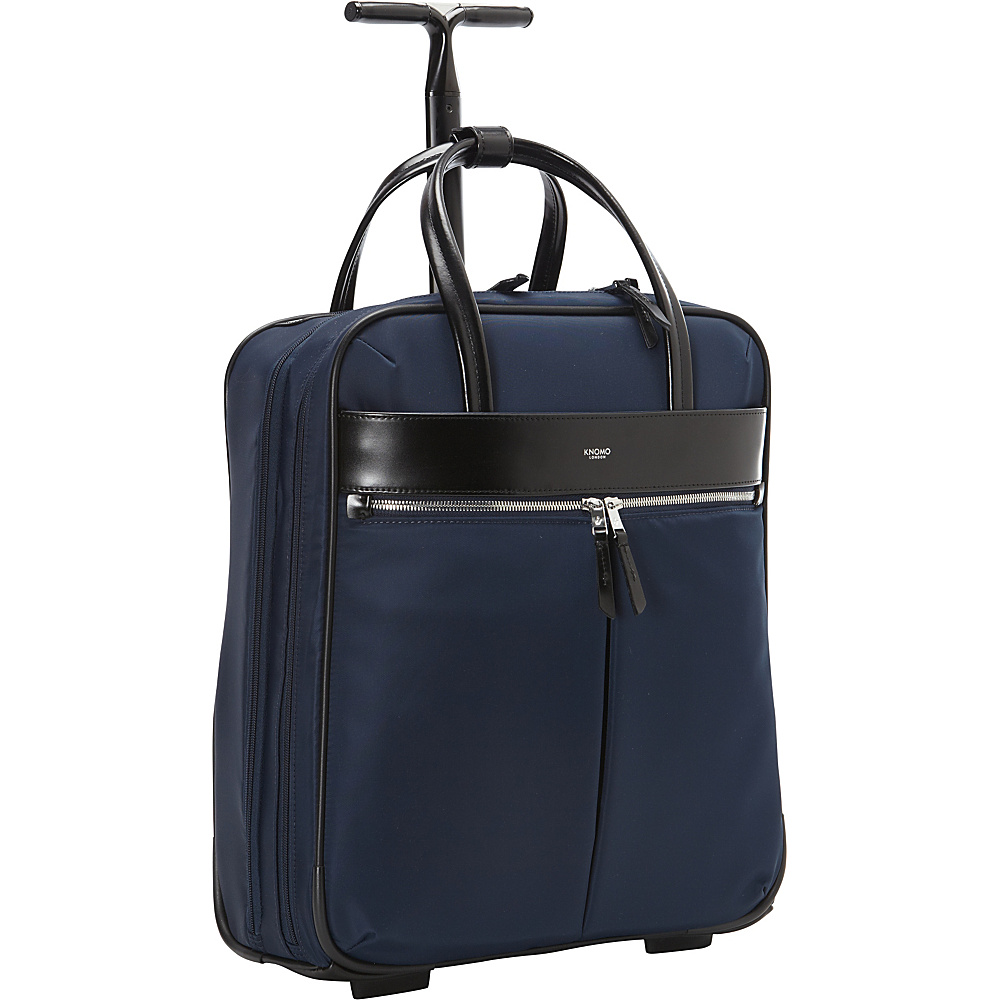 KNOMO London Burlington 15 N S Trolley Navy KNOMO London Wheeled Business Cases