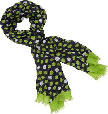 Vera Bradley Soft Fringe Scarf Lucky Dots - Vera Bradley Scarves