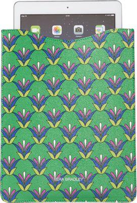 Vera Bradley Slim Tablet Sleeve Emerald Diamonds - Vera Bradley Laptop Sleeves