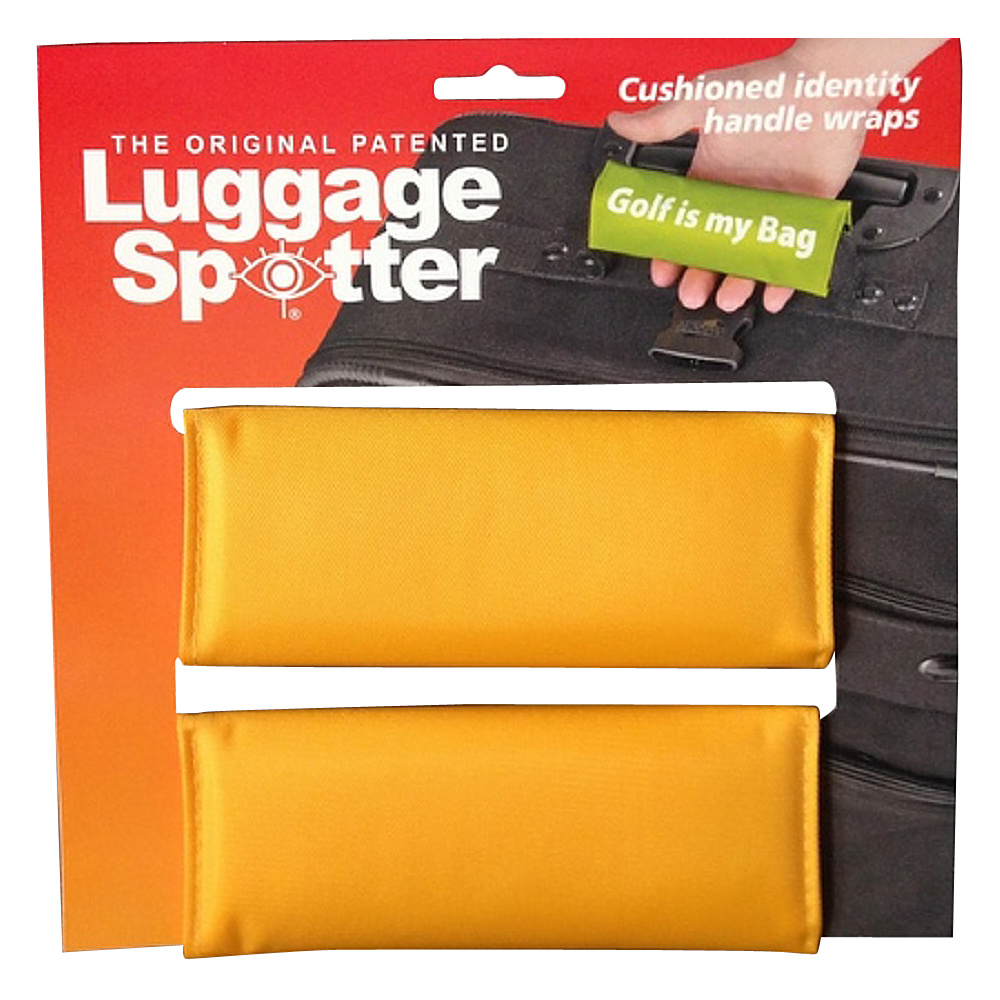 Luggage Spotters Bright Yellow Luggage Spotter Yellow Luggage Spotters Luggage Accessories