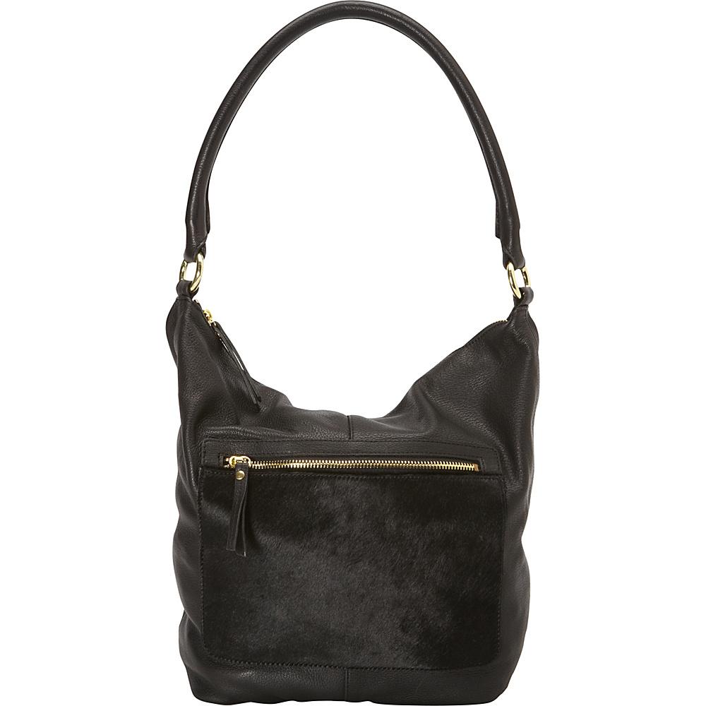 Latico Leathers London Tote Black on Black Latico Leathers Leather Handbags