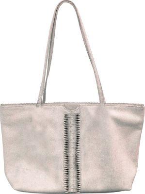 Latico Leathers Nicoleta Tote Crackle White - Latico Leathers Leather Handbags