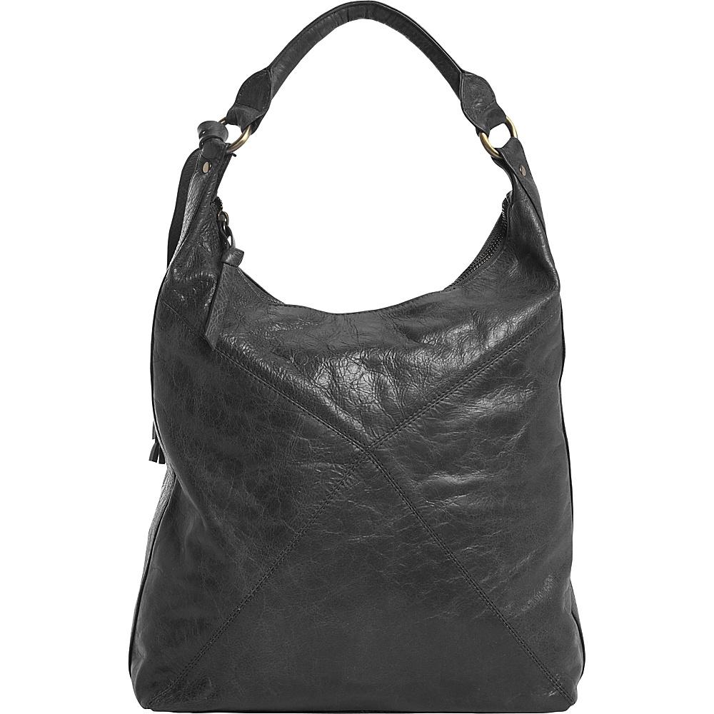 Latico Leathers Marilyn Backpack Handbag Washed Black - Latico Leathers Leather Handbags