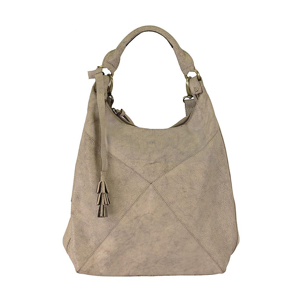 Latico Leathers Marilyn Backpack Handbag Crackle White - Latico Leathers Leather Handbags