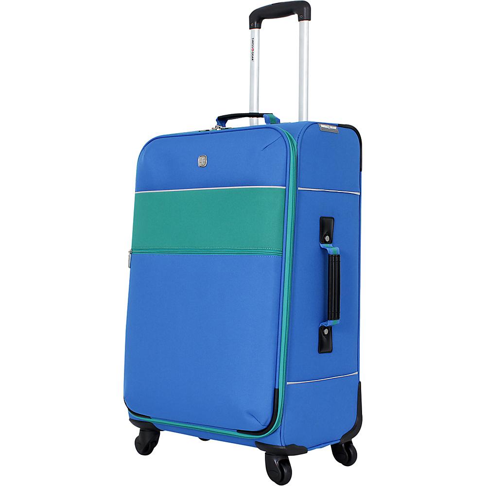 SwissGear Travel Gear 24 4 Wheeled Spinner Green SwissGear Travel Gear Softside Checked
