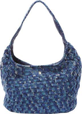 Helen Kaminski Mae Satchel Ink Melange/Indigo - Helen Kaminski Designer Handbags