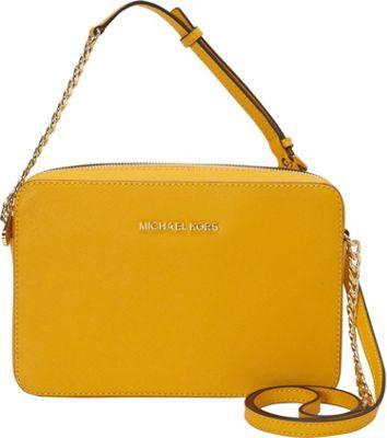 MICHAEL Michael Kors Jet Set Large E/W Crossbody Sun - MICHAEL Michael Kors Designer Handbags