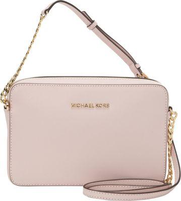 MICHAEL Michael Kors Jet Set Large E/W Crossbody Blossom - MICHAEL Michael Kors Designer Handbags