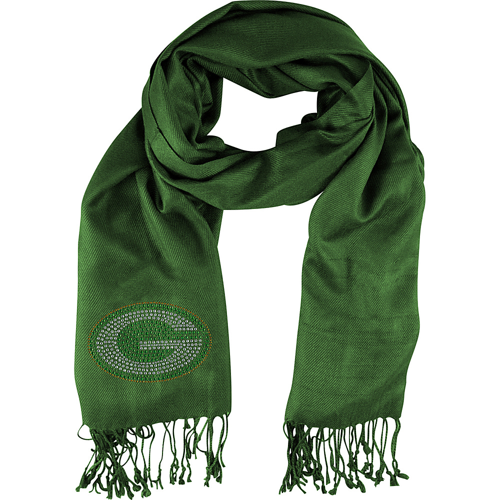 Littlearth Pashi Fan Scarf - NFL Teams Green Bay Packers - Littlearth Hats/Gloves/Scarves - Fashion Accessories, Hats/Gloves/Scarves