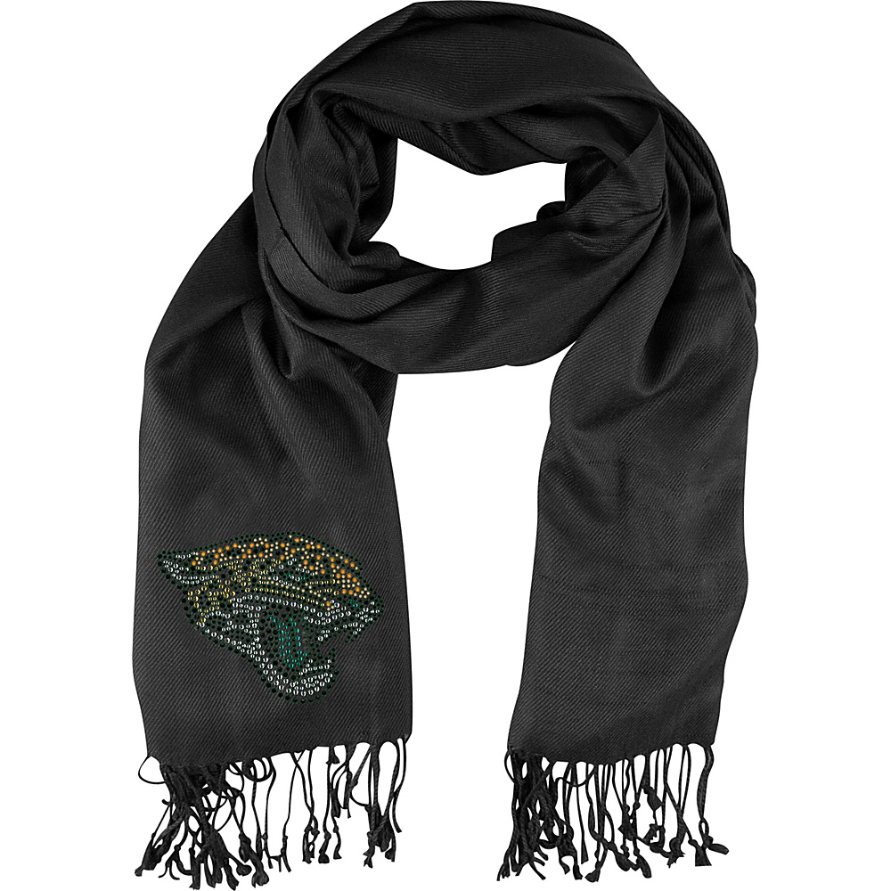 Littlearth Pashi Fan Scarf - NFL Teams Jacksonville Jaguars - Littlearth Hats/Gloves/Scarves - Fashion Accessories, Hats/Gloves/Scarves