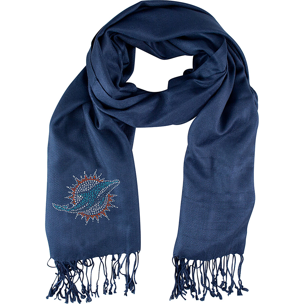 Littlearth Pashi Fan Scarf - NFL Teams Miami Dolphins - Littlearth Hats/Gloves/Scarves - Fashion Accessories, Hats/Gloves/Scarves