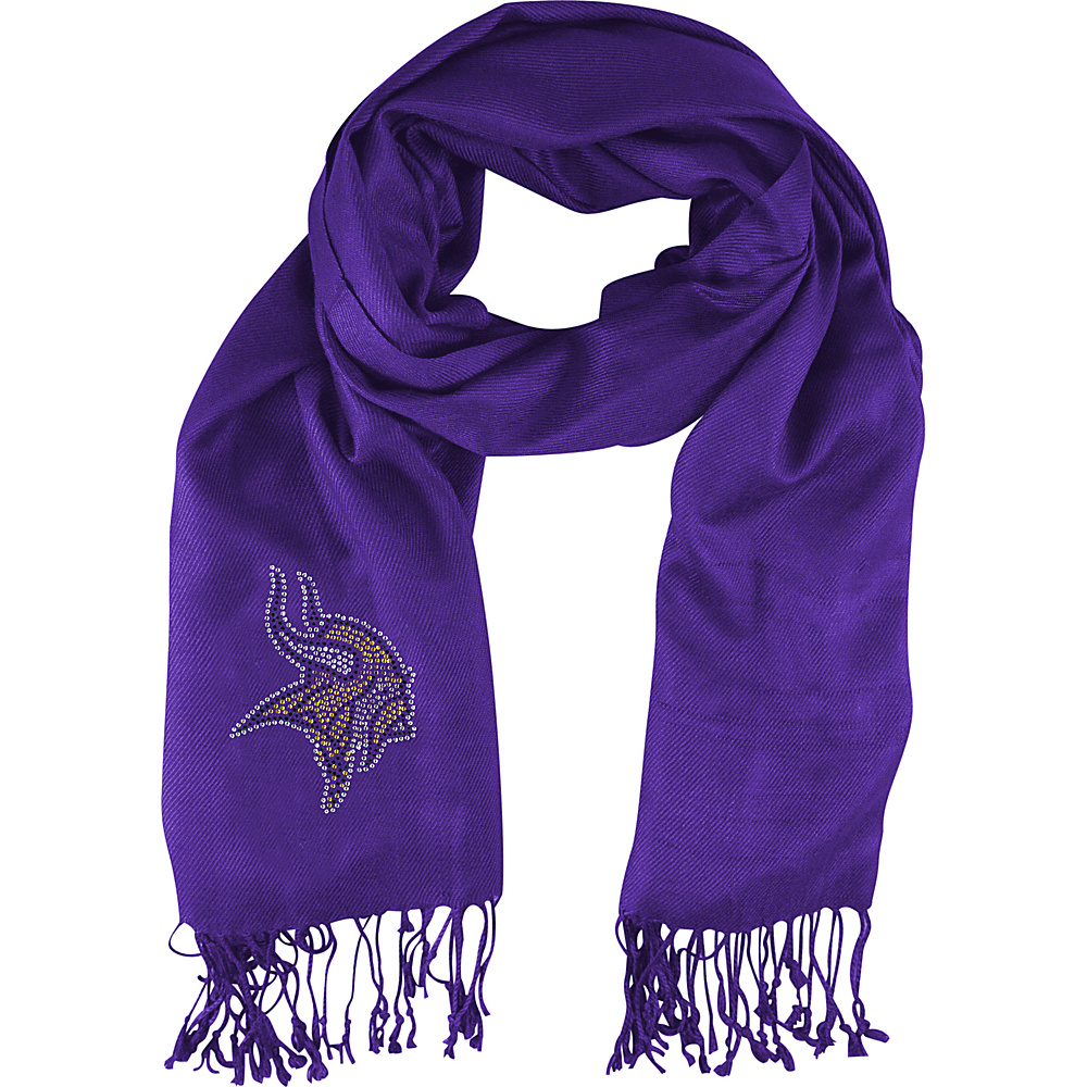 Littlearth Pashi Fan Scarf - NFL Teams Minnesota Vikings - Littlearth Hats/Gloves/Scarves - Fashion Accessories, Hats/Gloves/Scarves