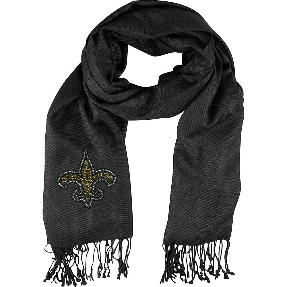 Littlearth Pashi Fan Scarf - NFL Teams New Orleans Saints - Littlearth Hats/Gloves/Scarves