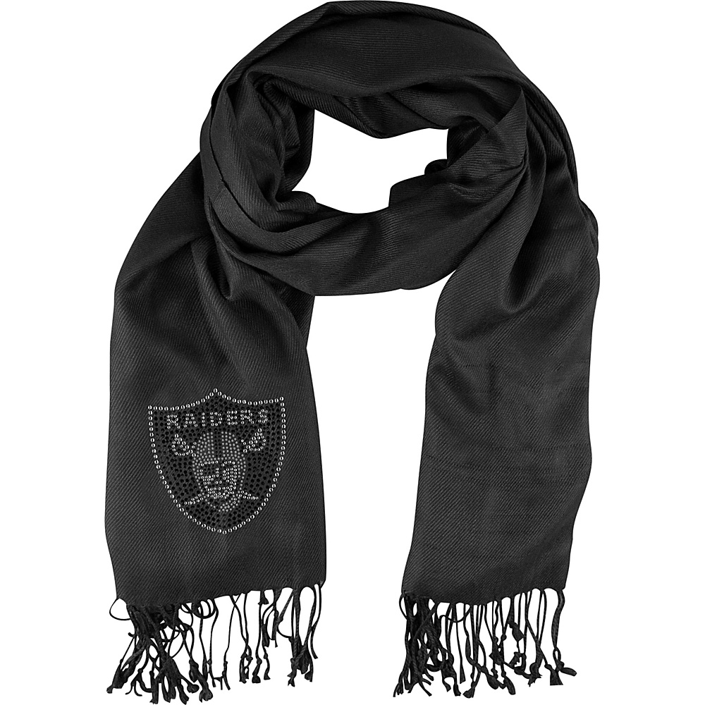 Littlearth Pashi Fan Scarf - NFL Teams Oakland Raiders - Littlearth Hats/Gloves/Scarves
