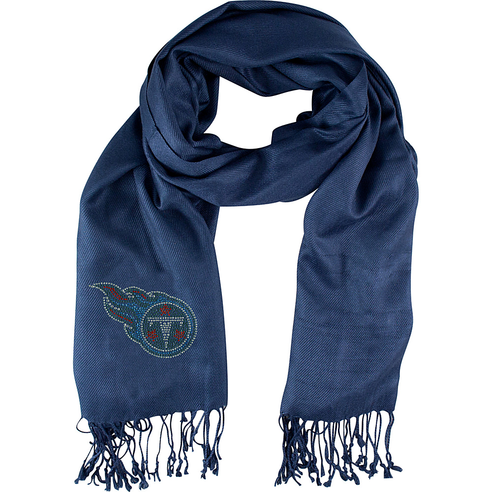 Littlearth Pashi Fan Scarf - NFL Teams Tennessee Titans - Littlearth Hats/Gloves/Scarves - Fashion Accessories, Hats/Gloves/Scarves