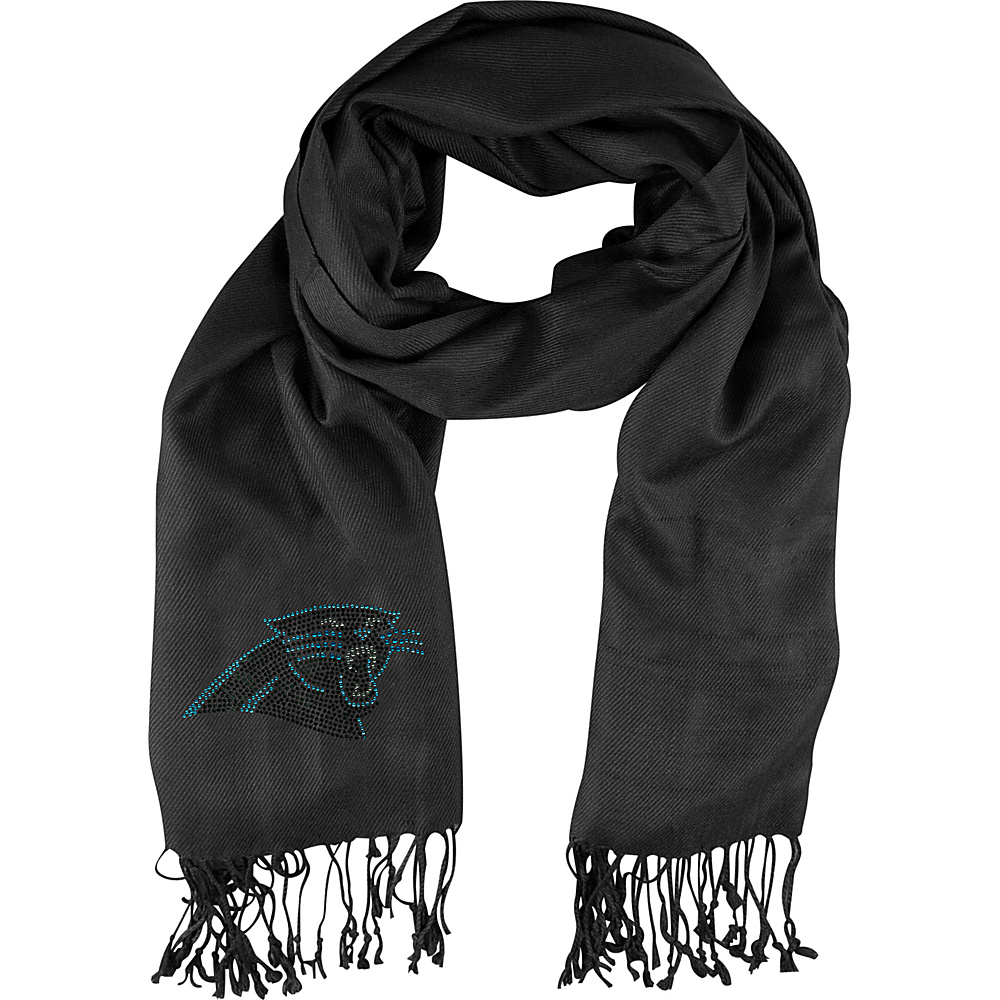 Littlearth Pashi Fan Scarf - NFL Teams Carolina Panthers - Littlearth Hats/Gloves/Scarves - Fashion Accessories, Hats/Gloves/Scarves