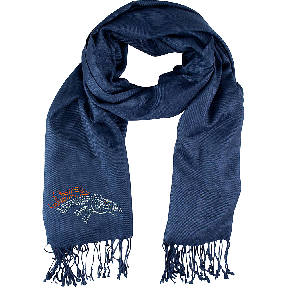 Littlearth Pashi Fan Scarf - NFL Teams Denver Broncos - Littlearth Hats/Gloves/Scarves - Fashion Accessories, Hats/Gloves/Scarves