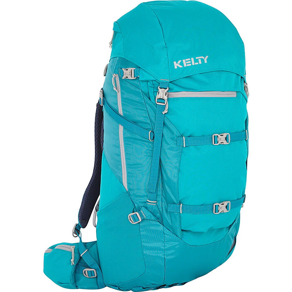 Kelty Women's Catalyst 76 Hiking Backpack Emerald - Kelty Backpacking Packs
