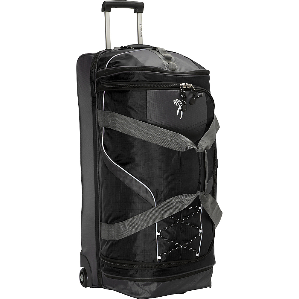 Ricardo Beverly Hills Essentials 30 2 Wheel Drop Bottom Duffel Black Ricardo Beverly Hills Rolling Duffels