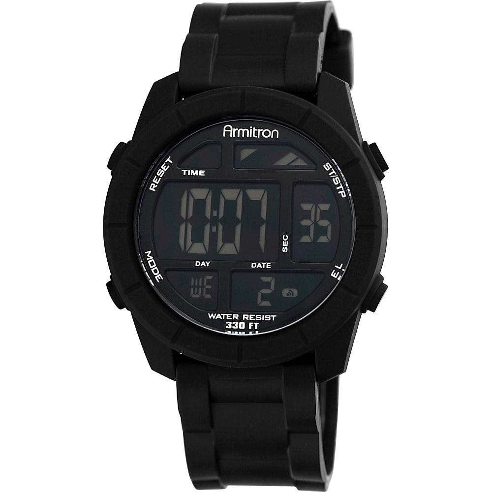 Armitron Men's Sport LCD Digital Watch Black - Armitron Watches