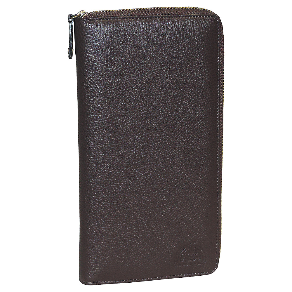 Dopp SoHo RFID Passport Wallet Dark Brown - Dopp Travel Wallets