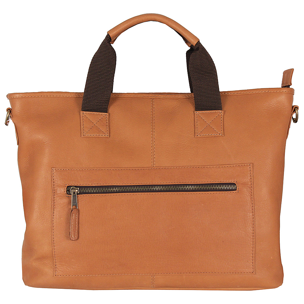 Latico Leathers New Orleans Laptop Brief Natural - Latico Leathers Non-Wheeled Business Cases - Work Bags & Briefcases, Non-Wheeled Business Cases