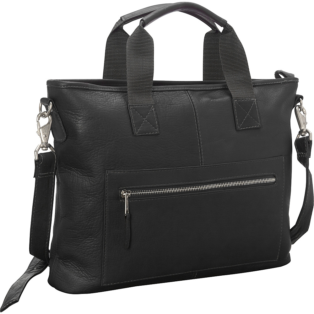 Latico Leathers New Orleans Laptop Brief Black - Latico Leathers Non-Wheeled Business Cases - Work Bags & Briefcases, Non-Wheeled Business Cases