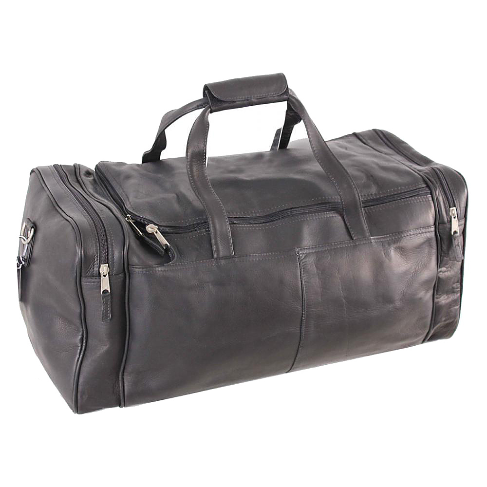 Latico Leathers Tour Bag Black - Latico Leathers Travel Duffels