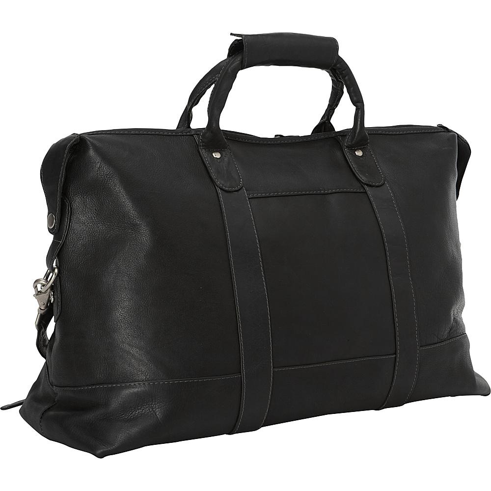 Latico Leathers Carriage Bag Black - Latico Leathers Travel Duffels - Duffels, Travel Duffels