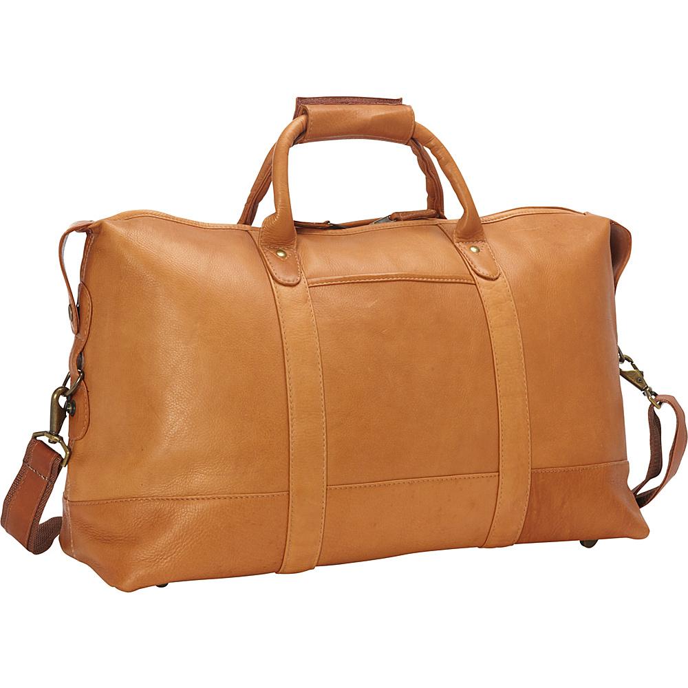 Latico Leathers Carriage Bag Natural - Latico Leathers Travel Duffels - Duffels, Travel Duffels