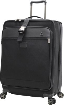 """Image of Andiamo Avanti 28"""" Expandable Spinner with Suitor Midnight Black - Andiamo Large Rolling Luggage"""