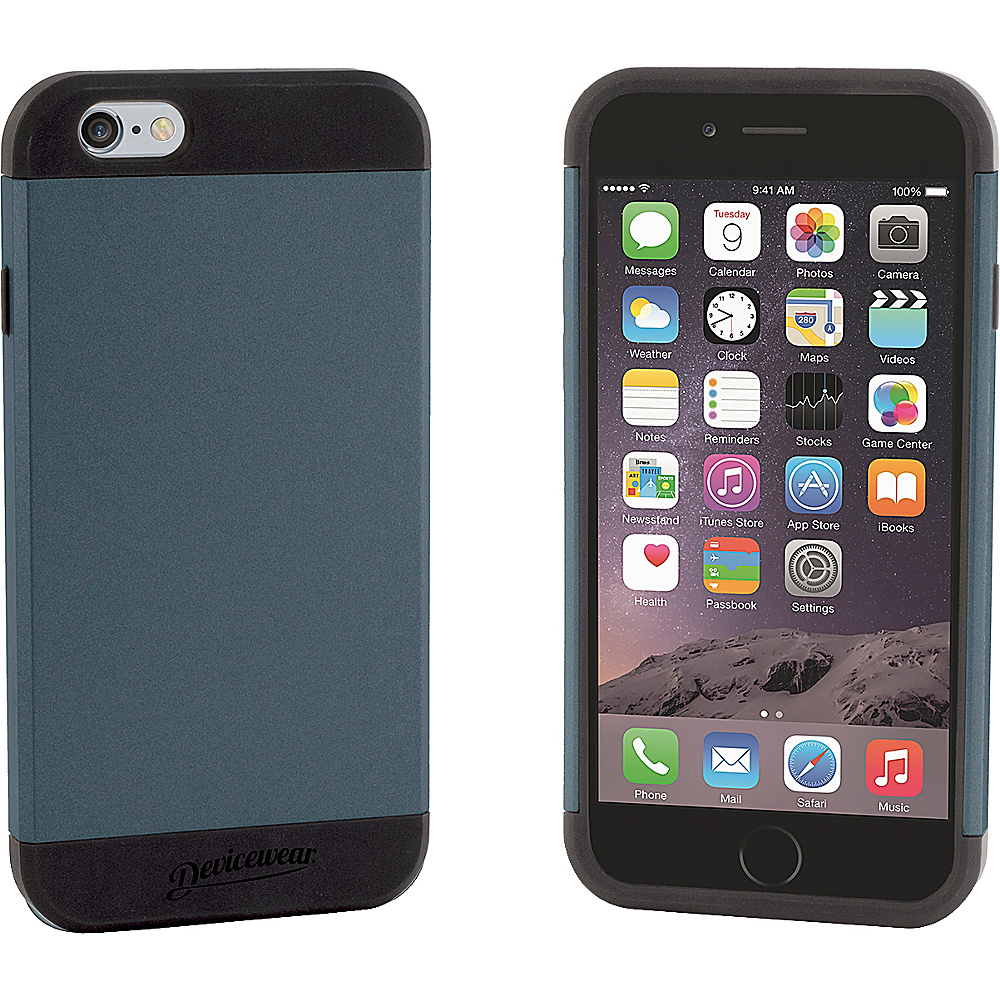 Devicewear Durus [Armor Tough] Protective Case [Heavy Duty] Dual Layer Extreme Protection Cover Case for iPhone 6 4.7 Dark Gray Devicewear Electronic Cases