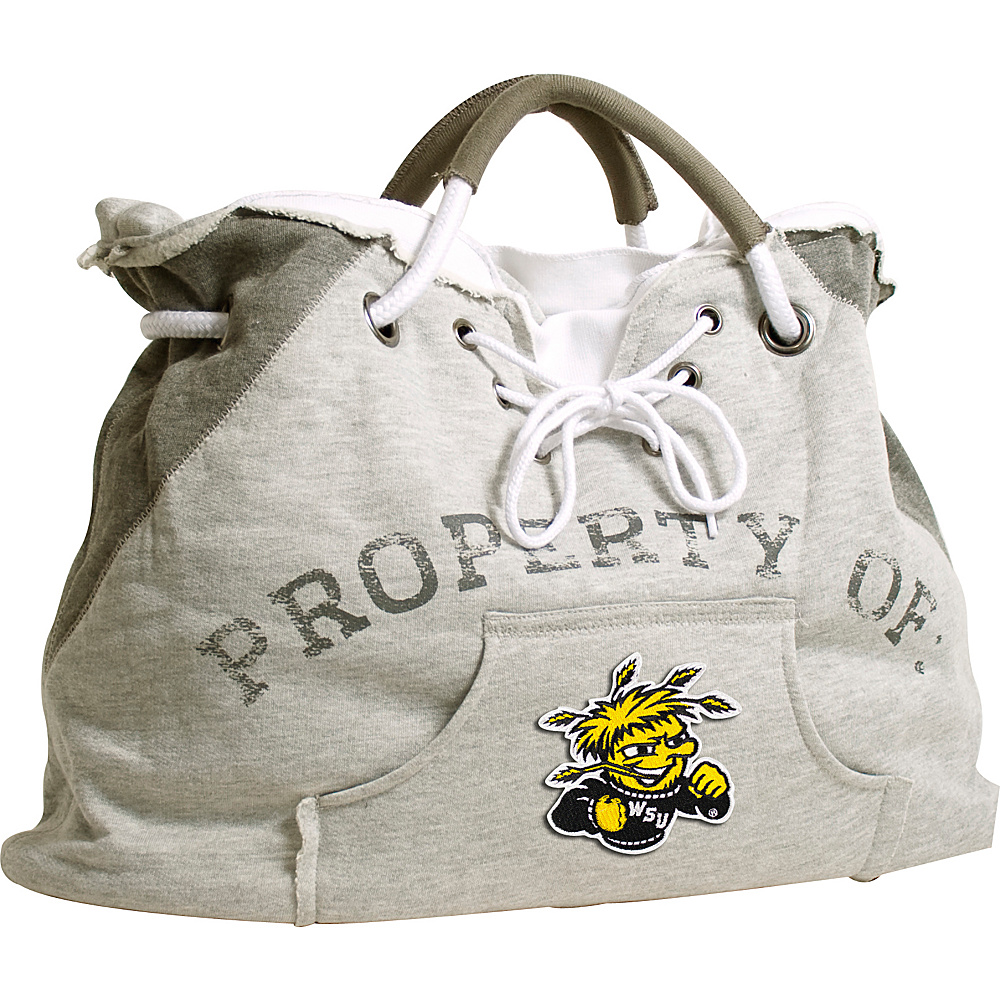 Littlearth Hoodie Tote - College Teams Wichita State University - Littlearth Fabric Handbags - Handbags, Fabric Handbags