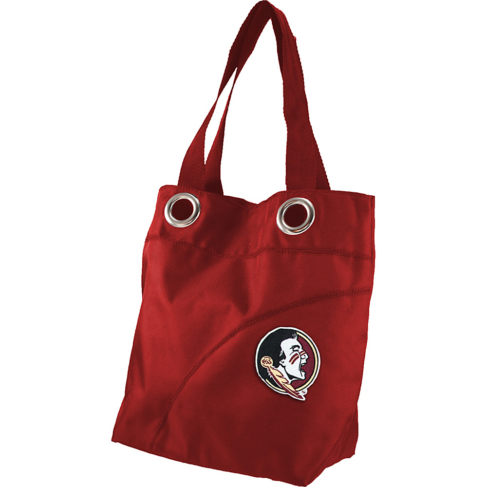 Littlearth Color Sheen Tote - ACC Teams Florida State University - Littlearth Fabric Handbags - Handbags, Fabric Handbags