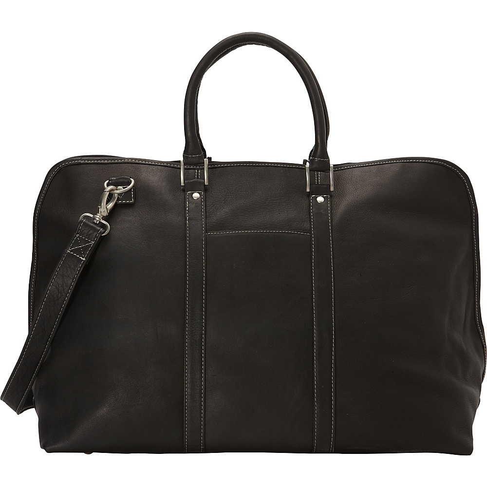Le Donne Leather Drifter Duffel Black - Le Donne Leather Rolling Duffels - Luggage, Rolling Duffels
