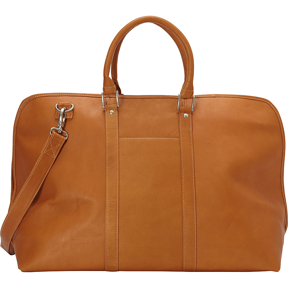 Le Donne Leather Drifter Duffel Tan - Le Donne Leather Rolling Duffels - Luggage, Rolling Duffels