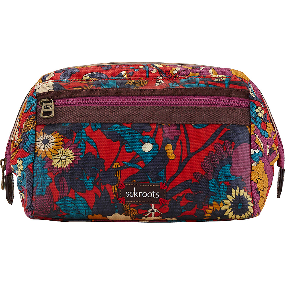 Upc 711640530641 Product Image For Sakroots Artist Circle Carryall Cosmetic Crimson Flower Las