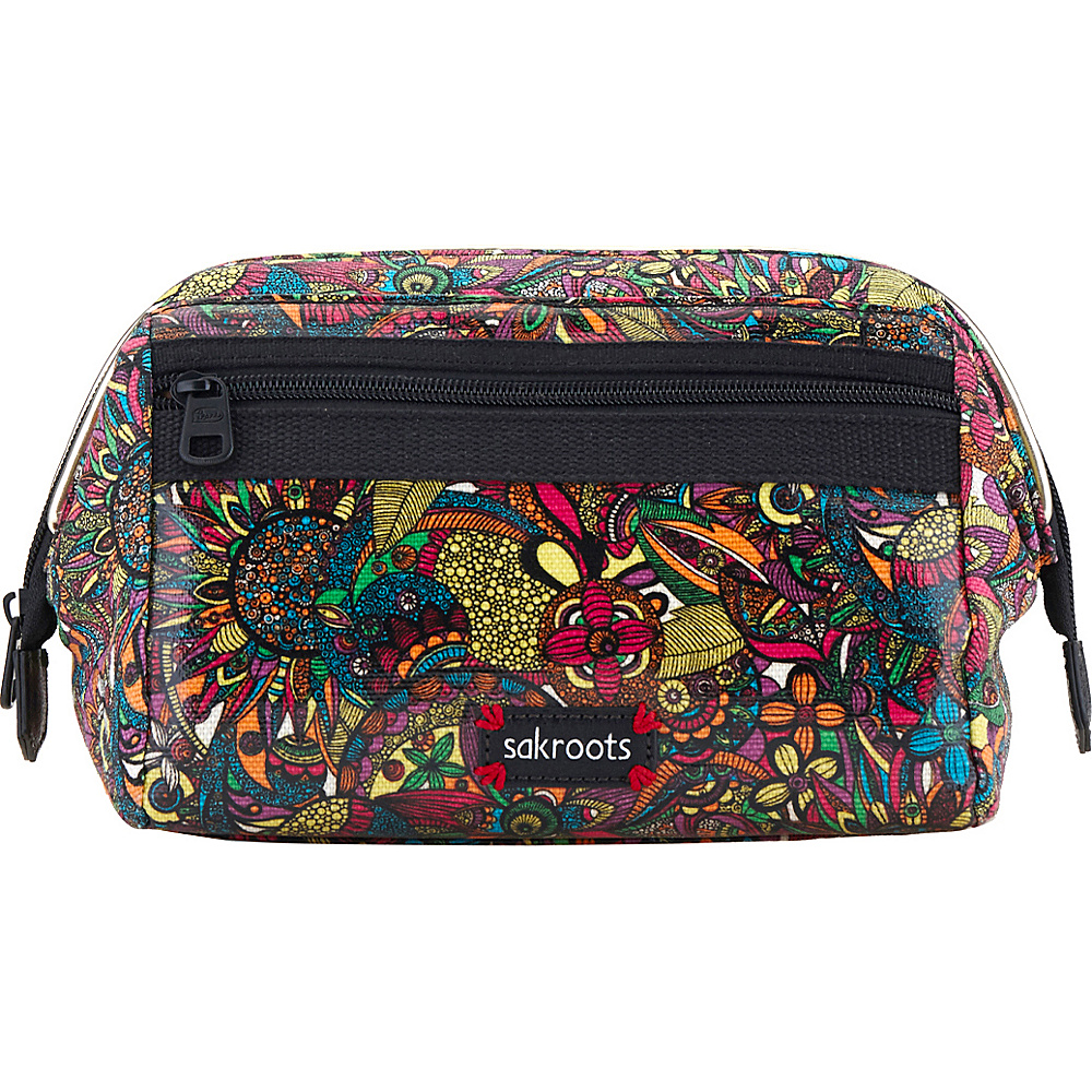 Sakroots Artist Circle Carryall Cosmetic Rainbow Spirit Desert Sakroots Women s SLG Other