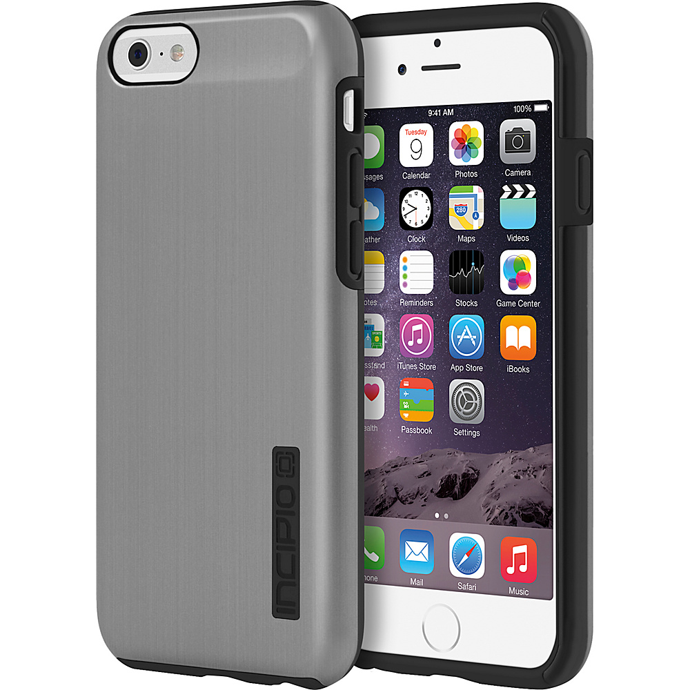Incipio DualPro SHINE iPhone 6/6s Case Gunmetal/Black - Incipio Electronic Cases - Technology, Electronic Cases
