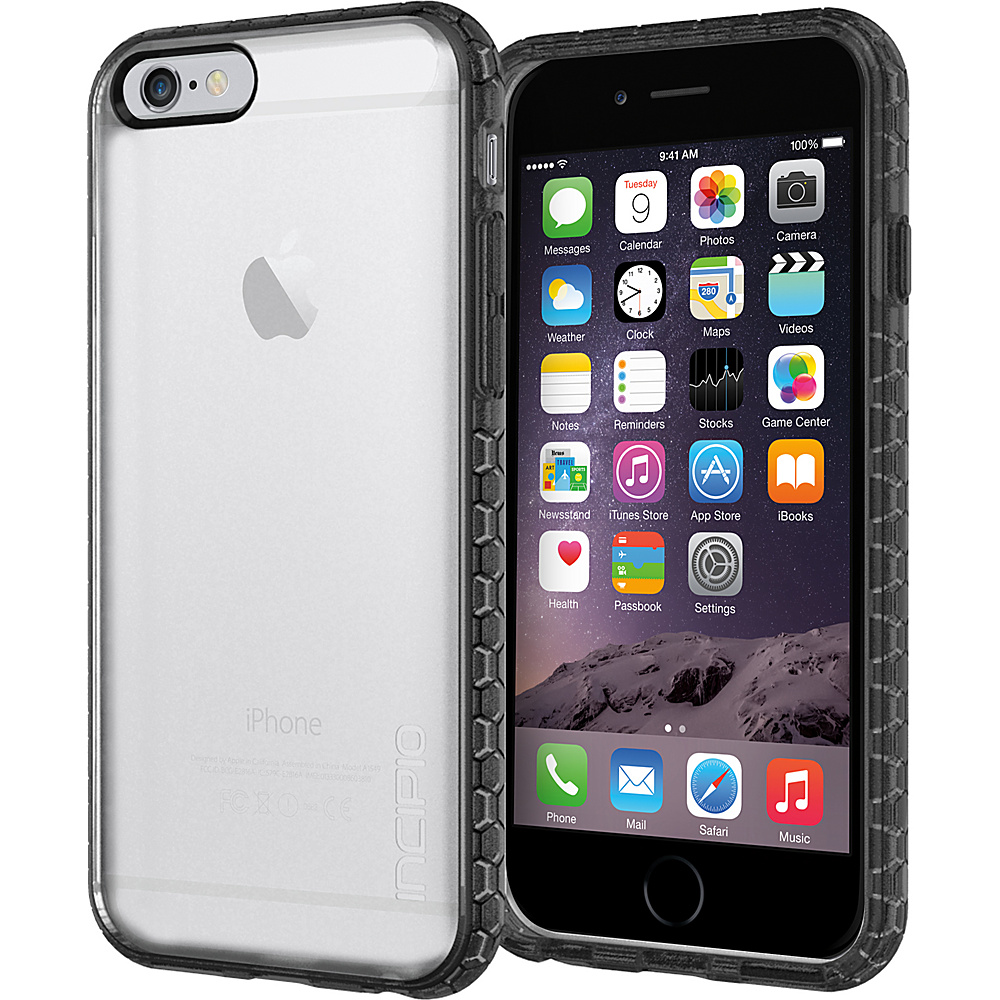 Incipio Octane iPhone 6/6s Case Frost/Black - Incipio Electronic Cases - Technology, Electronic Cases