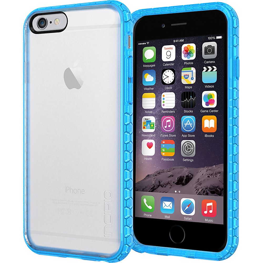 Incipio Octane iPhone 6/6s Case Frost/Cyan - Incipio Electronic Cases - Technology, Electronic Cases