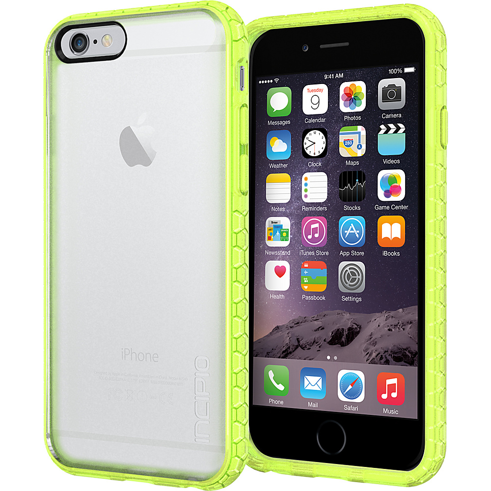 Incipio Octane iPhone 6 6s Case Frost Neon Green Incipio Electronic Cases