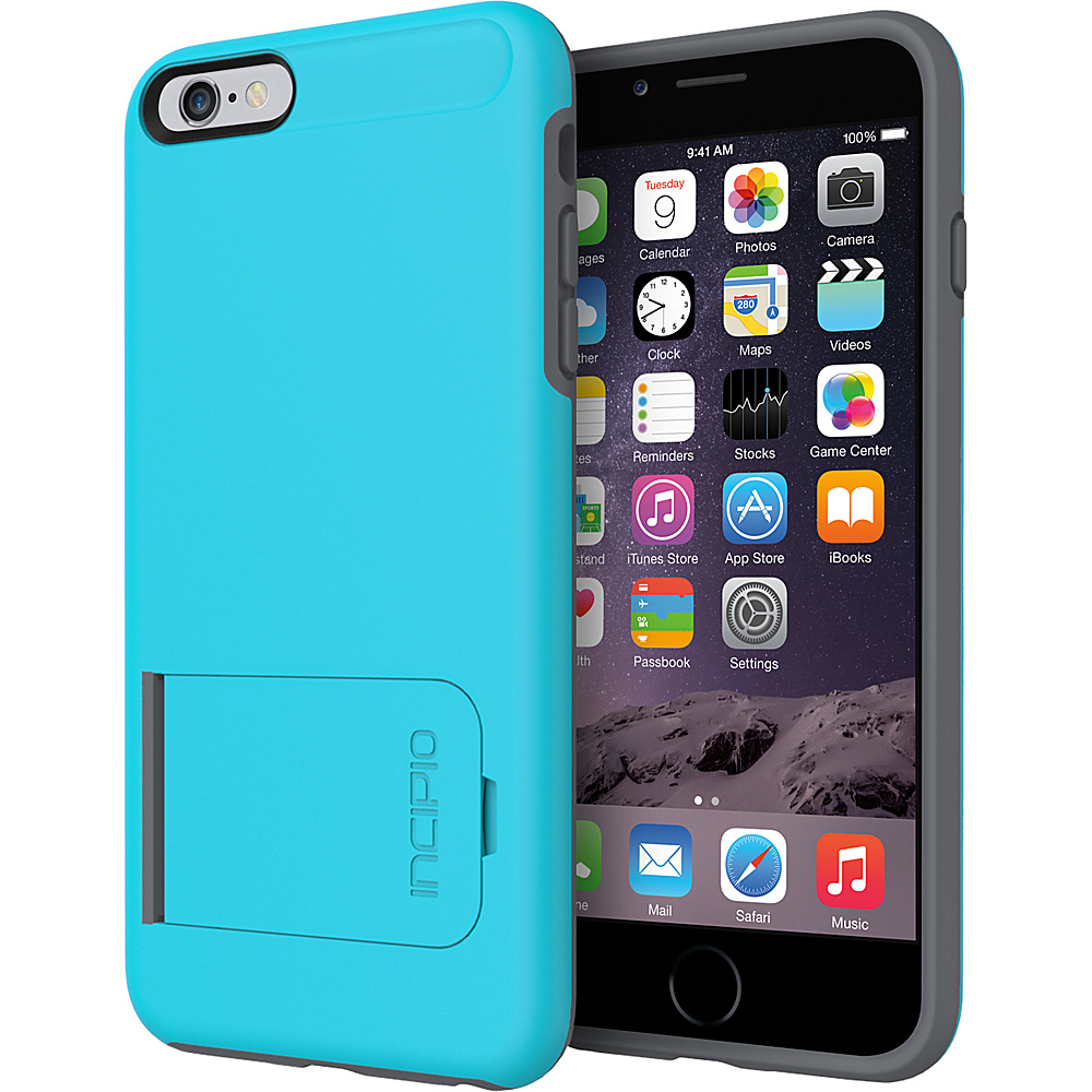 Incipio Kick snap iPhone 6/6s Plus Case Blue/ Gray - Incipio Electronic Cases - Technology, Electronic Cases