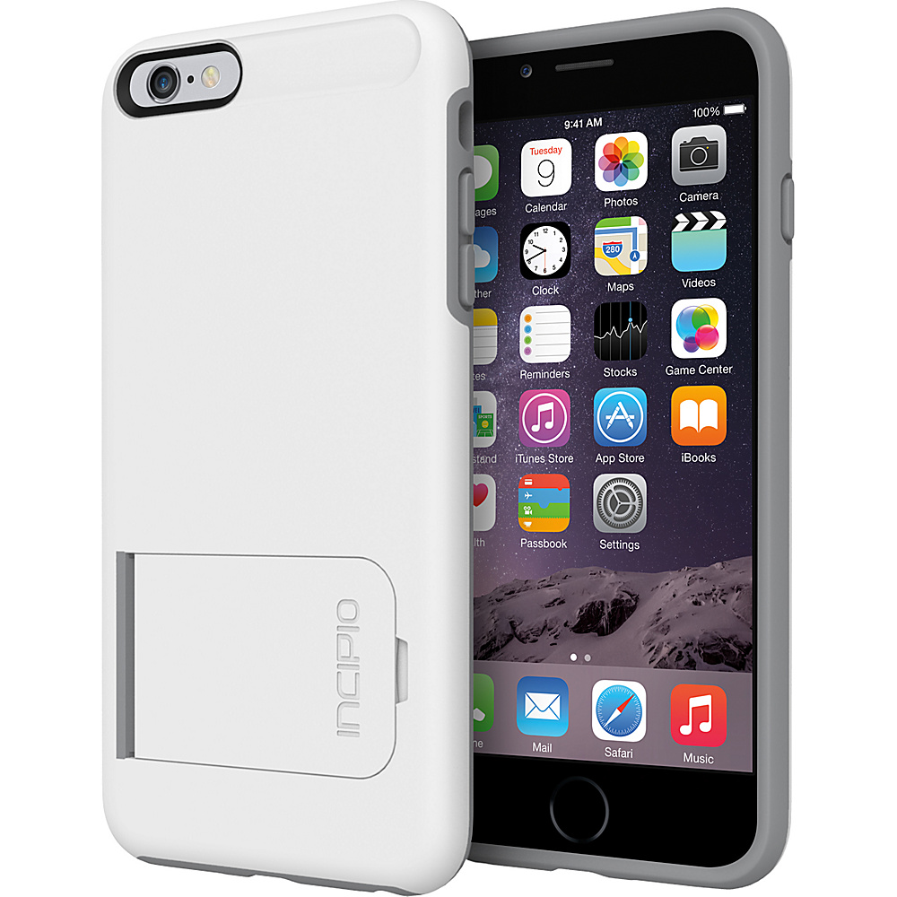 Incipio Kick snap iPhone 6 6s Plus Case White Grey Incipio Electronic Cases