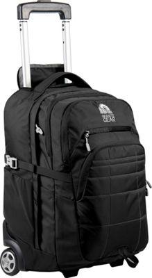 Granite Gear Trailster Wheeled Backpack Black - Granite Gear Rolling Backpacks