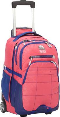 Granite Gear Trailster Wheeled Backpack Petal/Biscayne Blue/Chromium - Granite Gear Rolling Backpacks