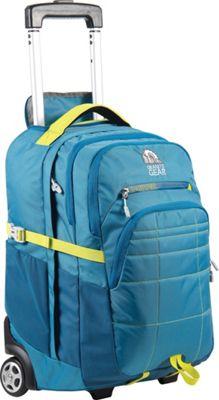 Granite Gear Trailster Wheeled Backpack Blue Frost/Bleumine/Neolime - Granite Gear Rolling Backpacks