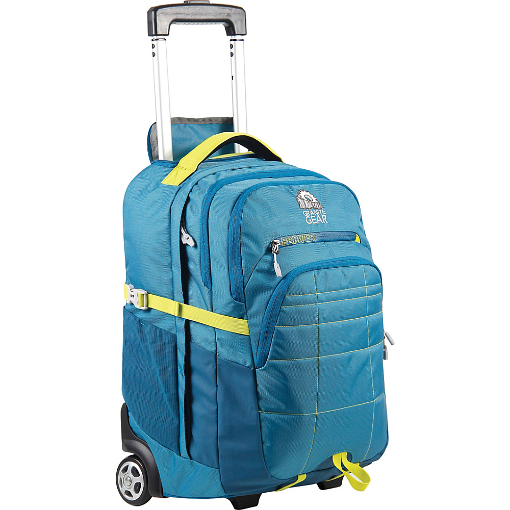 Granite Gear Trailster Wheeled Backpack Blue Frost Bleumine Neolime Granite Gear Rolling Backpacks